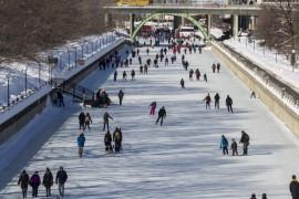 渥太华世界最长的溜冰场
