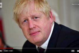 鲍里斯•约翰逊(Boris Johnson)作茧自缚受困于英国退欧的牢笼里