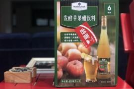 酸甜爽口的发酵苹果醋饮料