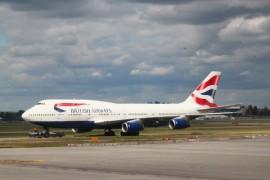 乘坐BA38北京直飞伦敦