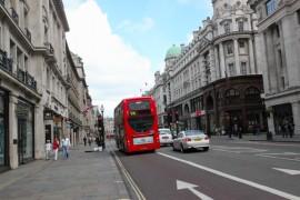 漫步伦敦摄政街(Regent Street)