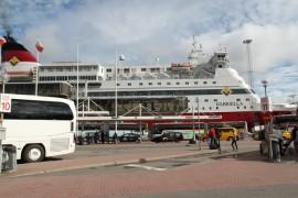 从赫尔辛基乘轮渡到斯德哥尔摩走马看花