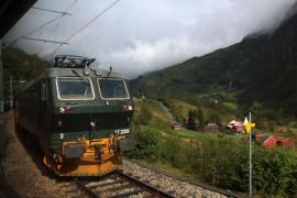 挪威佛莱姆(Flåm )小镇火车之旅