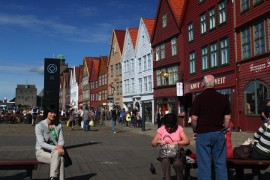 古朴艳丽的挪威城市 - 卑尔根