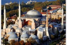 伊斯坦布尔圣索菲亚大教堂的崇高艺术令人折服